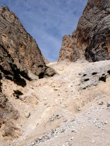 Foto 3 zur Tour: Punta Fiames, Via ferrata Albino Michielli Strobel
