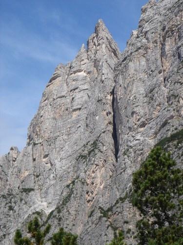 Foto 1 zur Tour: Punta Fiames, Via ferrata Albino Michielli Strobel